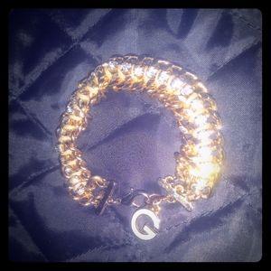 💕Guess Chain Link Charm Bracelet